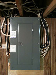 Home Electrical Panel After Services