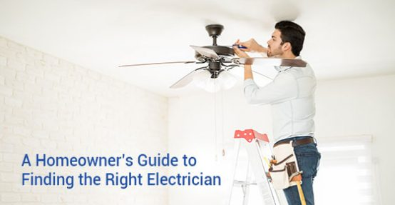 guide to finding the right electrician