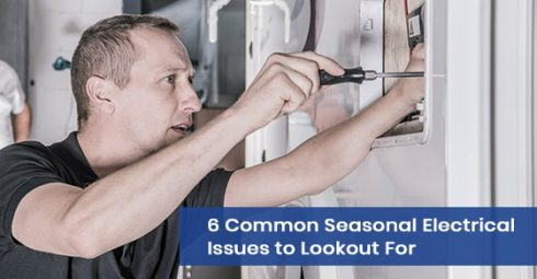 Common seasonal electrical issues