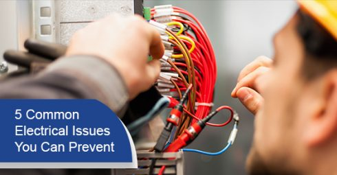 5 common electrical issues you can prevent